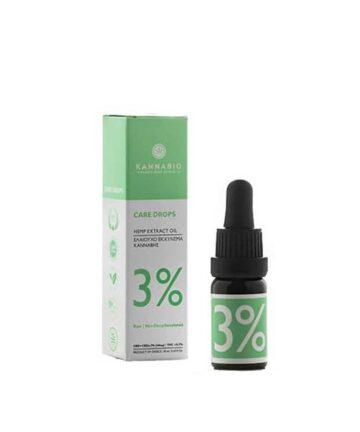 Ελαιούχο Εκχύλισμα Βιολογικής Κάνναβης Πλήρους Φάσματος (300 mg/10 ml)