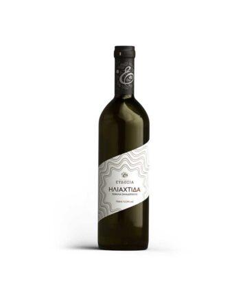 Ηλιαχτίδα οίνος λευκός 750ml
