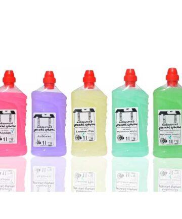 Καθαριστικό Γενικής Χρήσης Φυσικό – 5 αρώματα 1L/4L